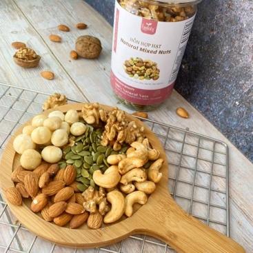 Hạt mixed 5 loại hạt bóc vỏ (350gr)